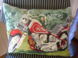 Cushion Harley front