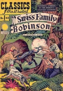 gilberton-publications-classics-illustrated-42-swiss-family-robinson-issue-hrn-62