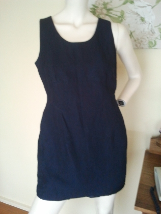 Latte linen dress [no jacket]