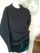 Roger David shetland wool jumper, made in China