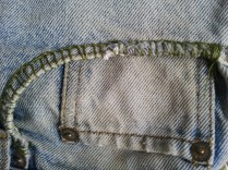 #3 Levis pocket