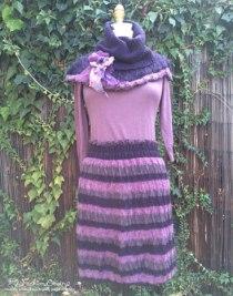 Purple dress re-design