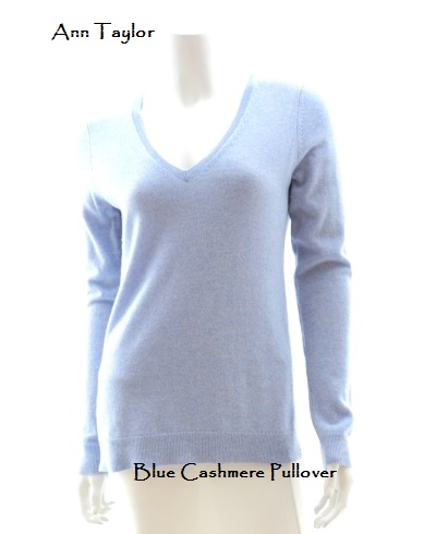 Paint ann-taylor-blue-cashmere-sweater-2
