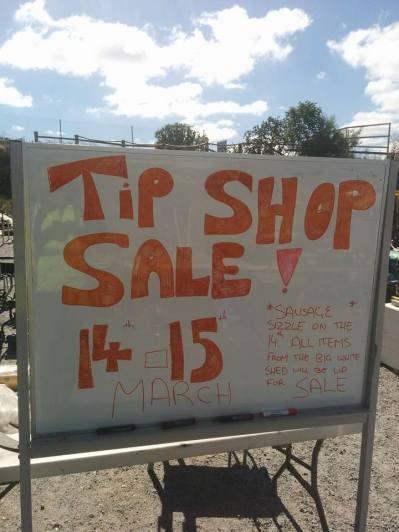 Sunbury Tip Shop